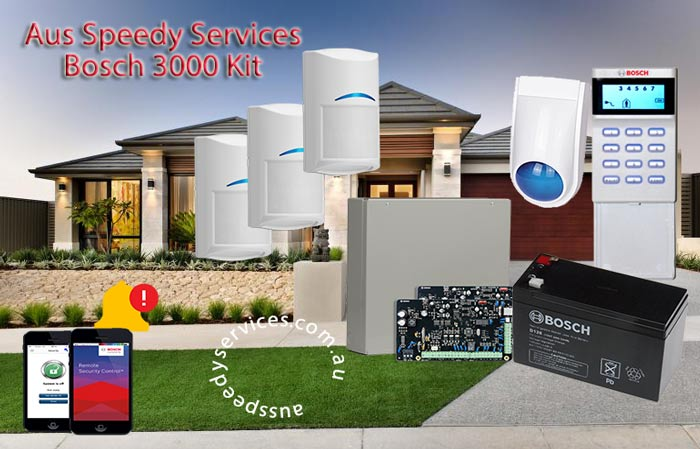 Aus Speedy Services Home Alarm 3000