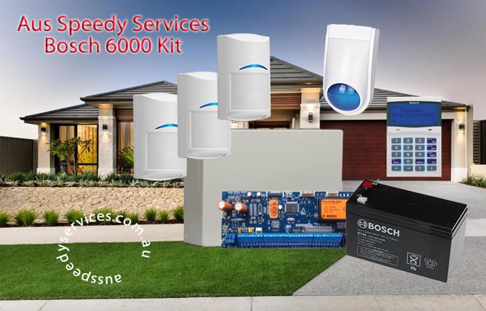 Bosch 6000 Alarm Installation