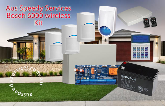 Aus Speedy Home Security Alarm 6000 wireless