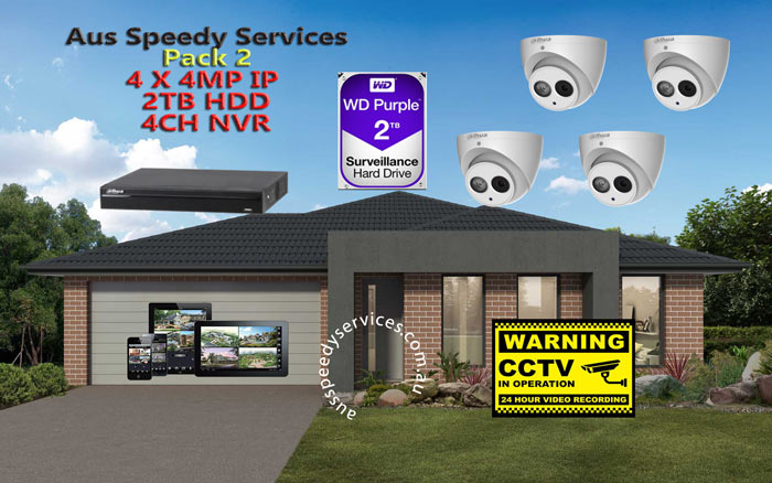 CCTV Dahua Pack2 Ip