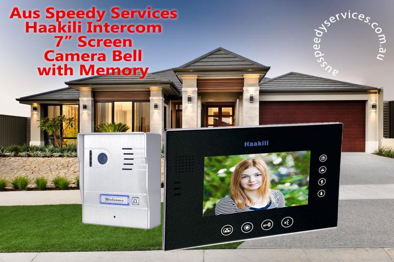 Haakili Video Intercom with Memory