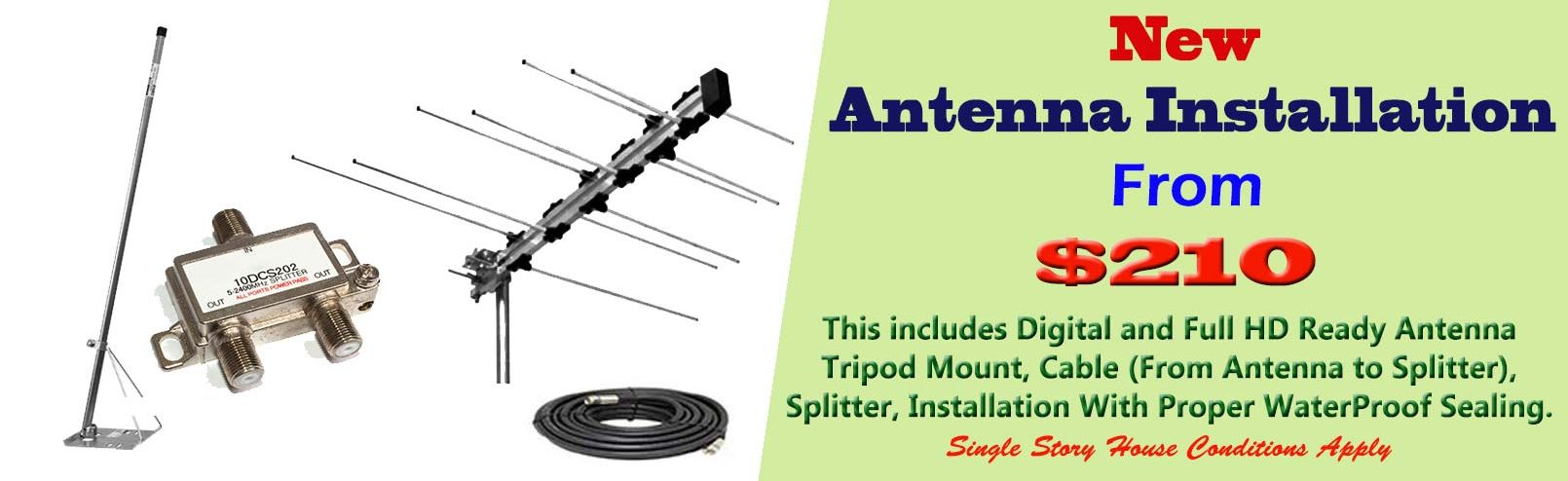Digital Antenna Installations