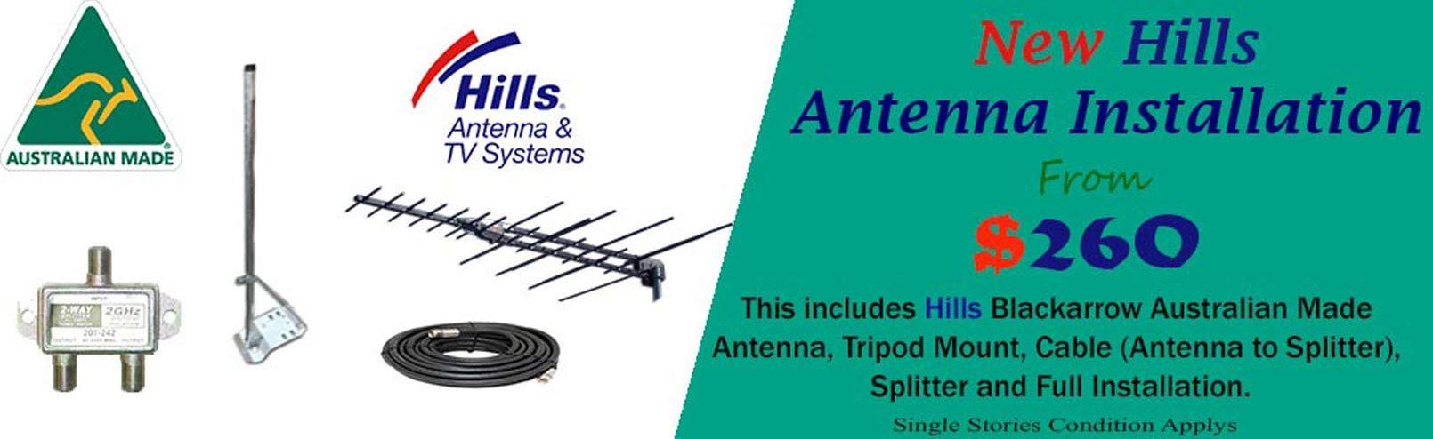 Australian Made Hills Antenna